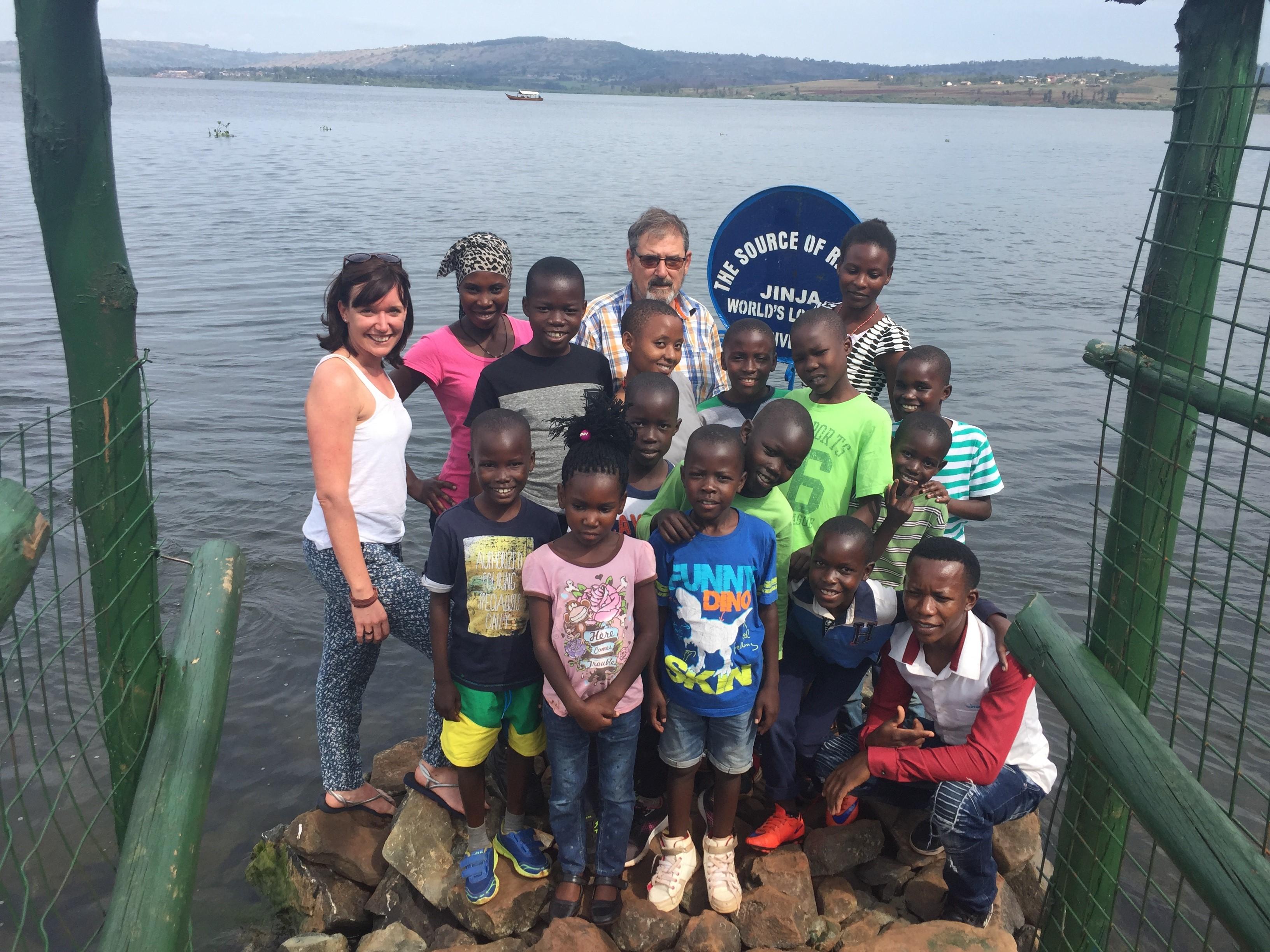 Ausflug mit den Yamba-Kindern